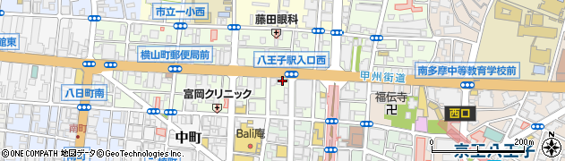 東京都八王子市横山町5-10周辺の地図
