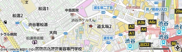 千代田稲荷神社周辺の地図