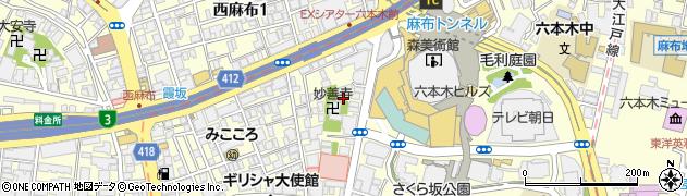 長幸寺周辺の地図