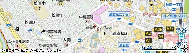お好み焼 むら 渋谷店周辺の地図