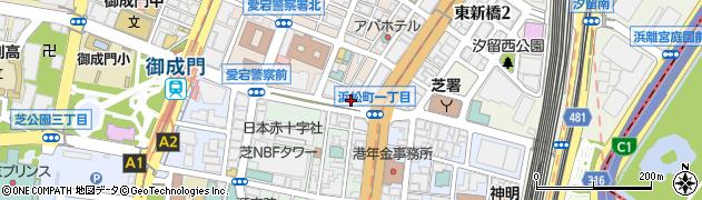 東京都港区新橋6丁目22-8周辺の地図