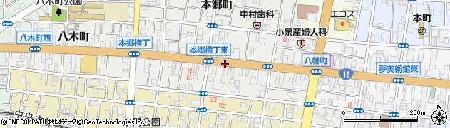 東京都八王子市八幡町周辺の地図