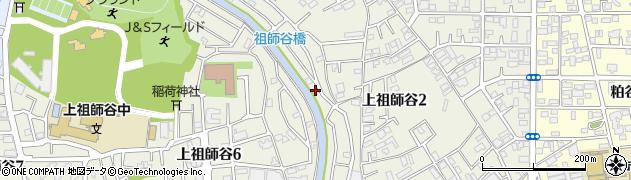 東京都世田谷区上祖師谷周辺の地図