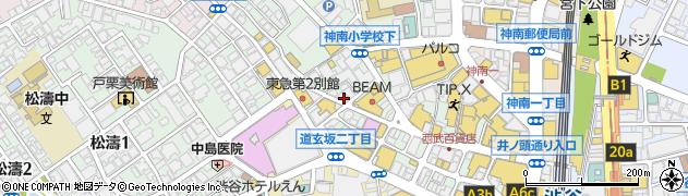 東京夢屋台楽周辺の地図