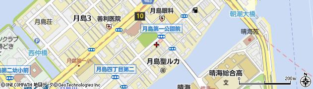 いし津周辺の地図