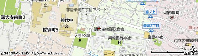 明治安田生命アパート周辺の地図