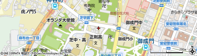 青竜寺周辺の地図