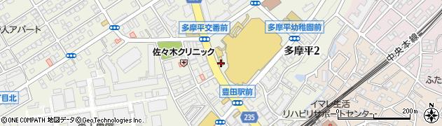 ワンタン麺館 香港亭周辺の地図