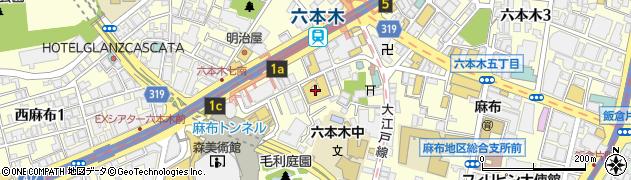 BistroVino周辺の地図