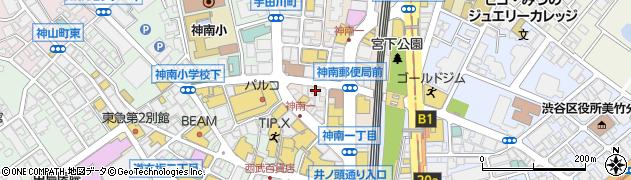 霧乃個室蒸し屋清郎周辺の地図