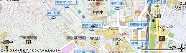 ラーメン町田商店 渋谷店周辺の地図