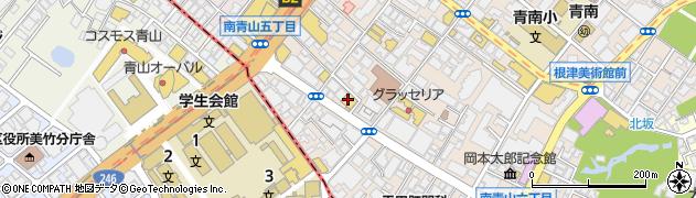 東京都港区南青山5丁目8-5周辺の地図