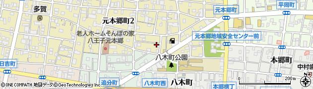 折り鶴周辺の地図