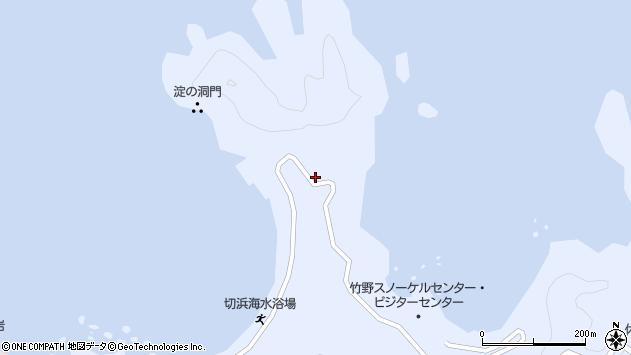 〒669-6216 兵庫県豊岡市竹野町切浜の地図
