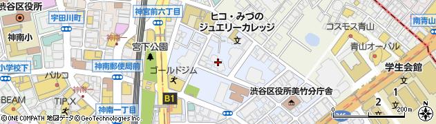 美竹ハイム周辺の地図
