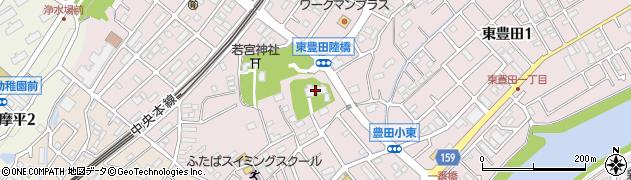 善生寺周辺の地図