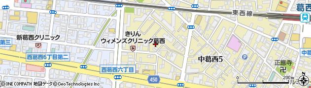 A周辺の地図