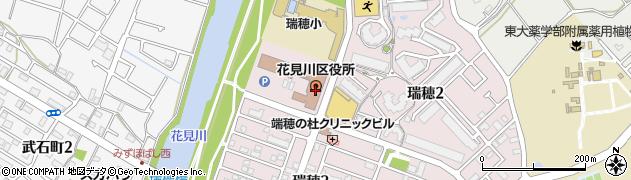 千葉県千葉市花見川区周辺の地図