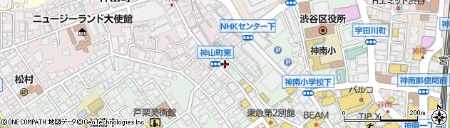愛美書店周辺の地図