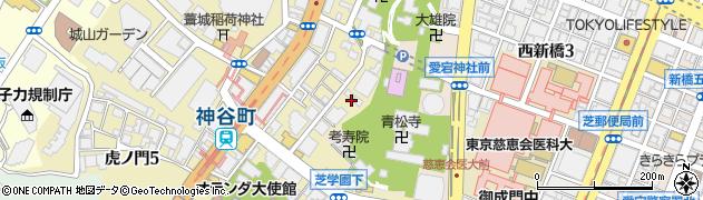 摂取院周辺の地図