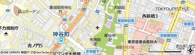 長元院周辺の地図