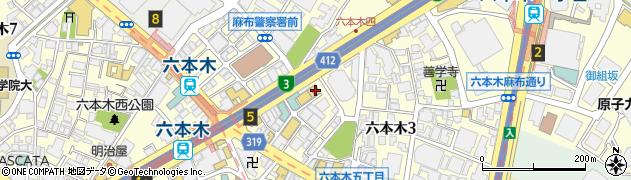 ラウンジ花Jitsu周辺の地図