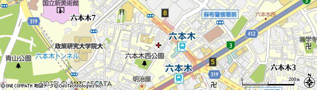 株式会社FERIA・TOKYO周辺の地図