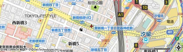 日比谷神社周辺の地図