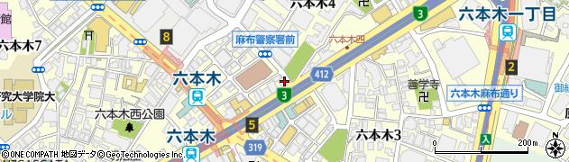 サーモンズZ周辺の地図