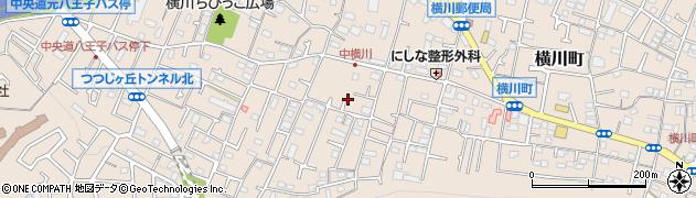東京都八王子市横川町周辺の地図