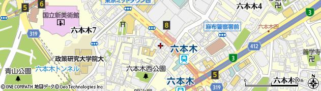 ワケアリクラブ周辺の地図