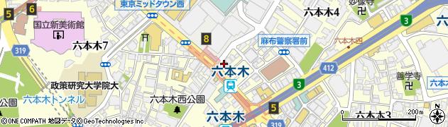 BAR・MEW周辺の地図