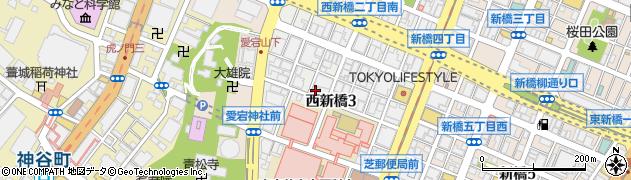 マーシャル諸島大使館周辺の地図