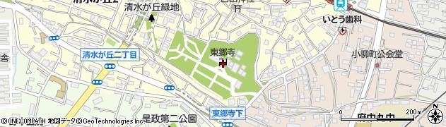 東郷寺周辺の地図