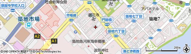 株式会社虎杖東京周辺の地図