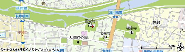 福全院周辺の地図
