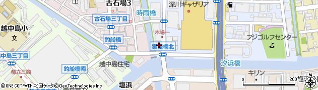 ウイークリーマンション木場パート1周辺の地図