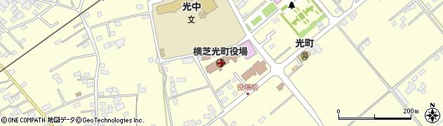 千葉県山武郡横芝光町周辺の地図