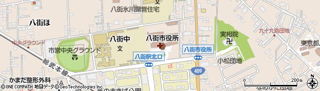 千葉県八街市周辺の地図