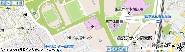 東京都渋谷区神南周辺の地図