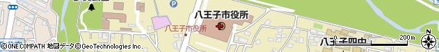 東京都八王子市周辺の地図