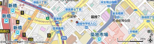 株式会社吉兆 東京本店周辺の地図