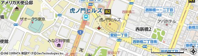 虎ノ門・アルボール(ARBOL)周辺の地図