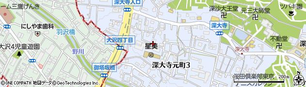 柏亭周辺の地図