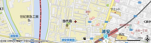 千葉県浦安市当代島周辺の地図