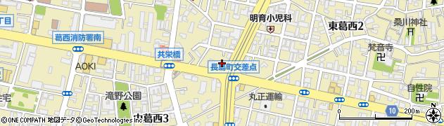 銀のさら 葛西店周辺の地図