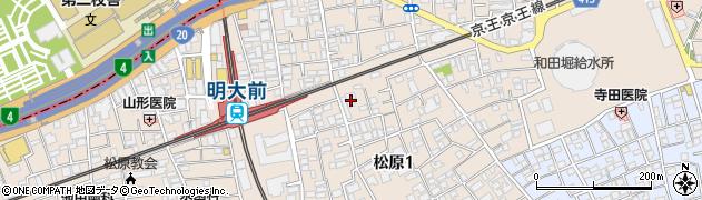 扶桑教周辺の地図