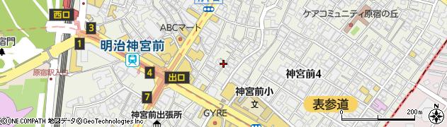 渋谷区代々木の郵便番号|〒