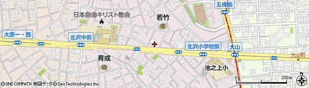 井ノ頭通り周辺の地図
