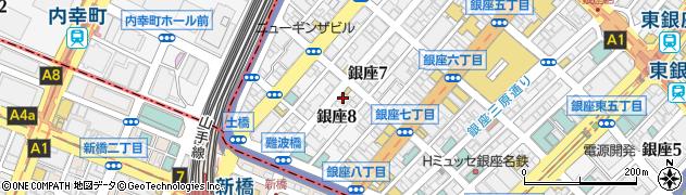 クラブ・ソシエ周辺の地図
